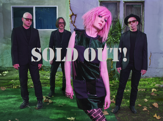 GARBAGE SOLD OUT